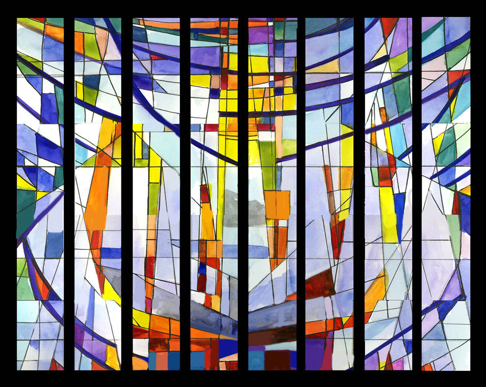 Stained Glass Window Art.Stained Glass Windows