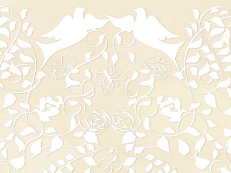 Doves on white  008