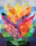 Ark Curtain for Valley Beth Shalom, 2020