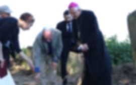 Mayor Rozwalka, Asia Kraus, Dr. Dan Oren, Rabbi Yehoshua Ellis, Bishop Mieczysław Cisło