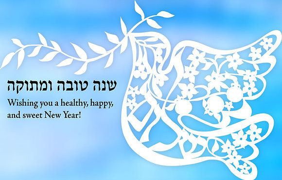 Papercut Dove, Shalom