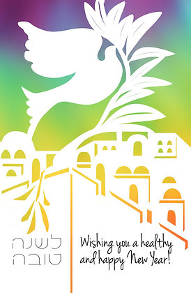 Dove over Jerusalem