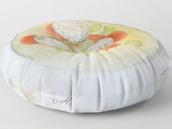 Matzo ball floor pillow