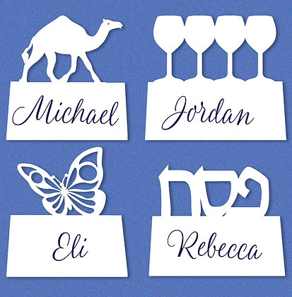 Passover Placecards, 4 designs