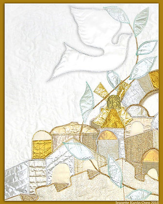 Dove Over Jerusalem