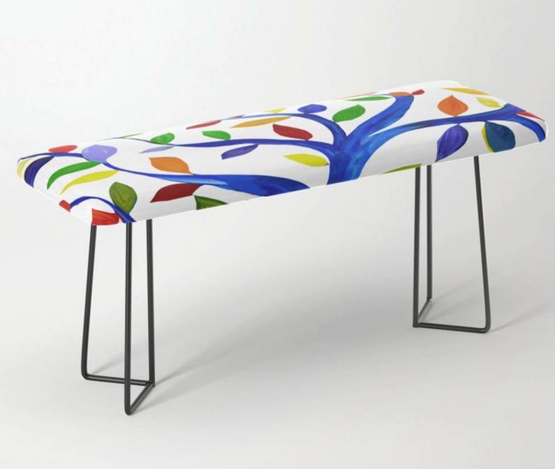 Custom designed bench