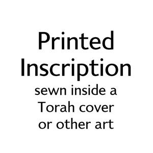 Printed Inscription