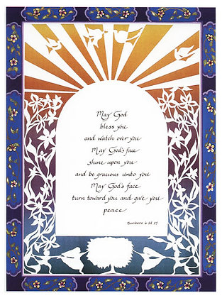 Priestly Blessing, English only