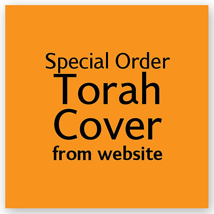 Special Torah Cover from Website
