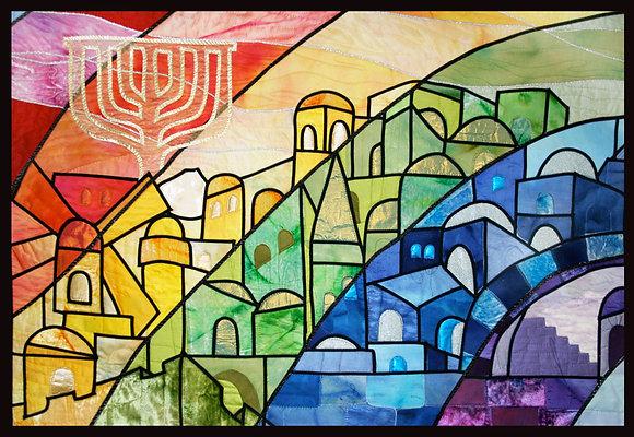 Jerusalem Menorah