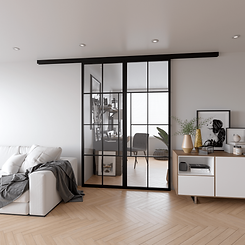 Steel-Sliding-Doors-with-Clear-Glass-min