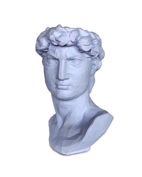 Скульптура органайзер в образе Давида,  высота  24,5см.