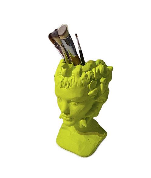 Скульптура органайзер в образе Медузы Горгоны, высота 24,5см.