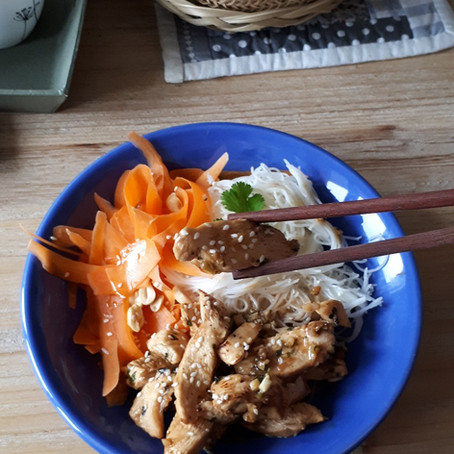 Sauté de poulet façon thaï