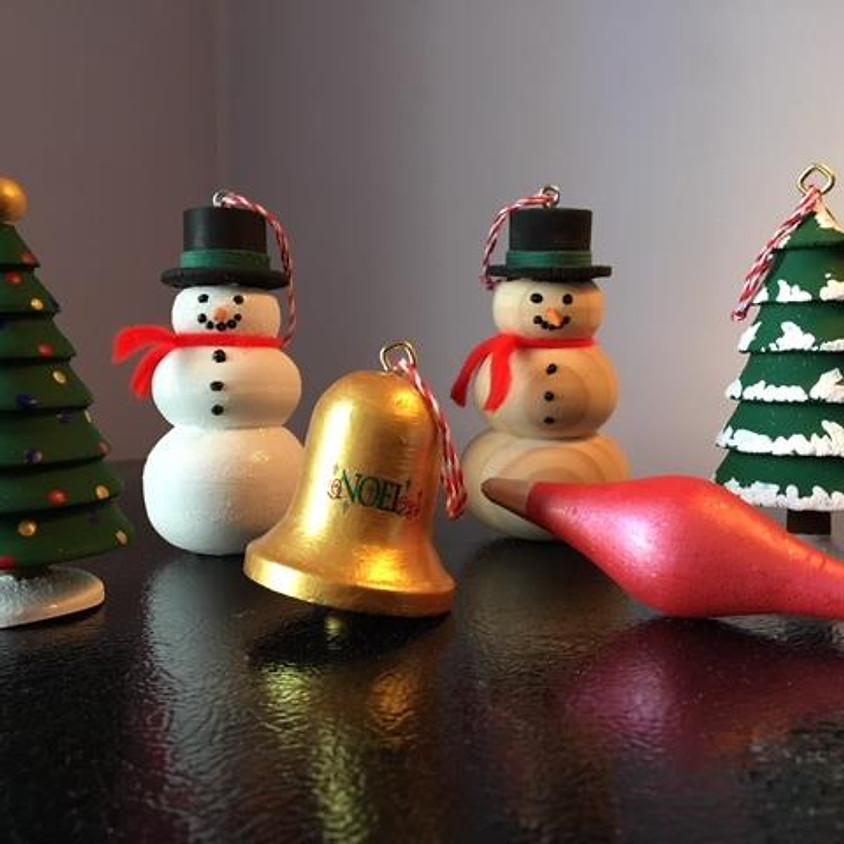 Turn Christmas Ornaments on a Lathe