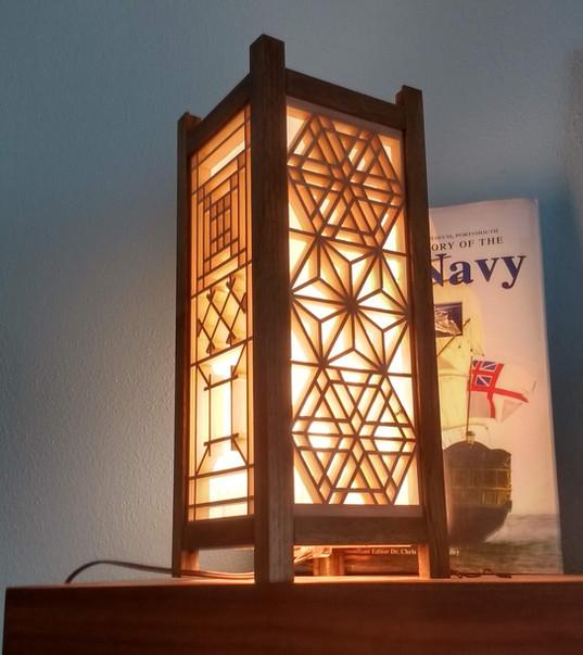 Steve's Kumiko light