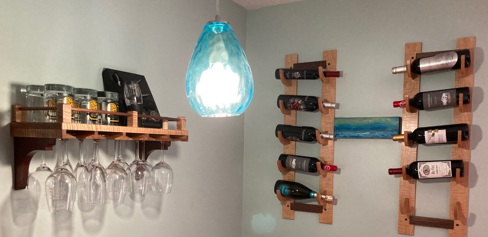 Bob wine & glass racks