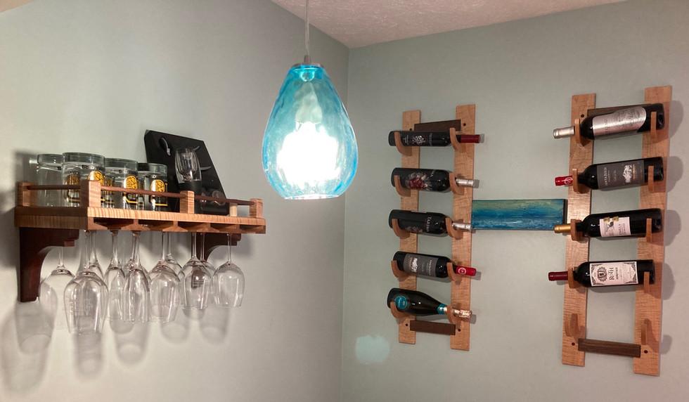 Bob wine & glass racks