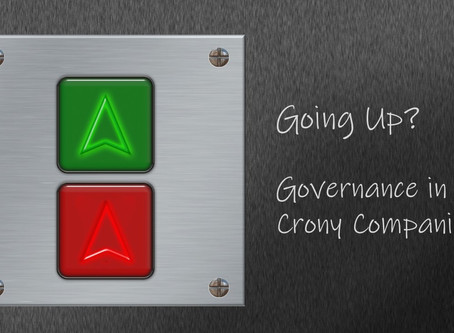 Going Up? Governance in Crony Companies