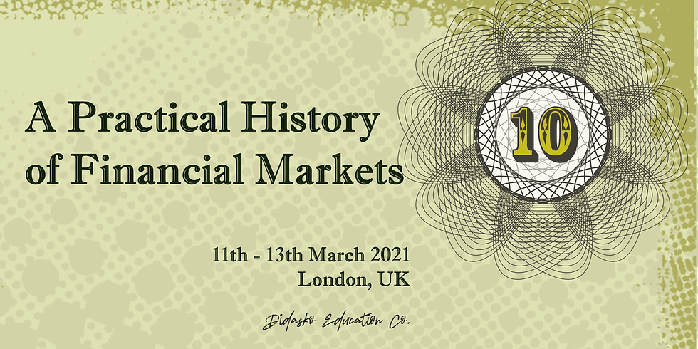 A Practical History of Financial Markets