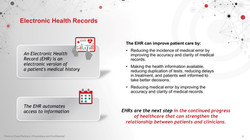 Electronic Health Record Slide