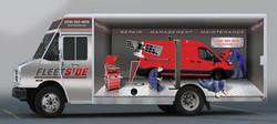 Fleetside Maintenance Van Wrap Desig