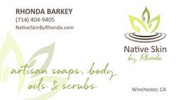 Native Skin Business Card