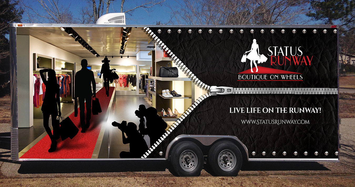 Project Runway Trailer Wrap Design