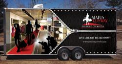 Project Runway Trailer Wrap Design