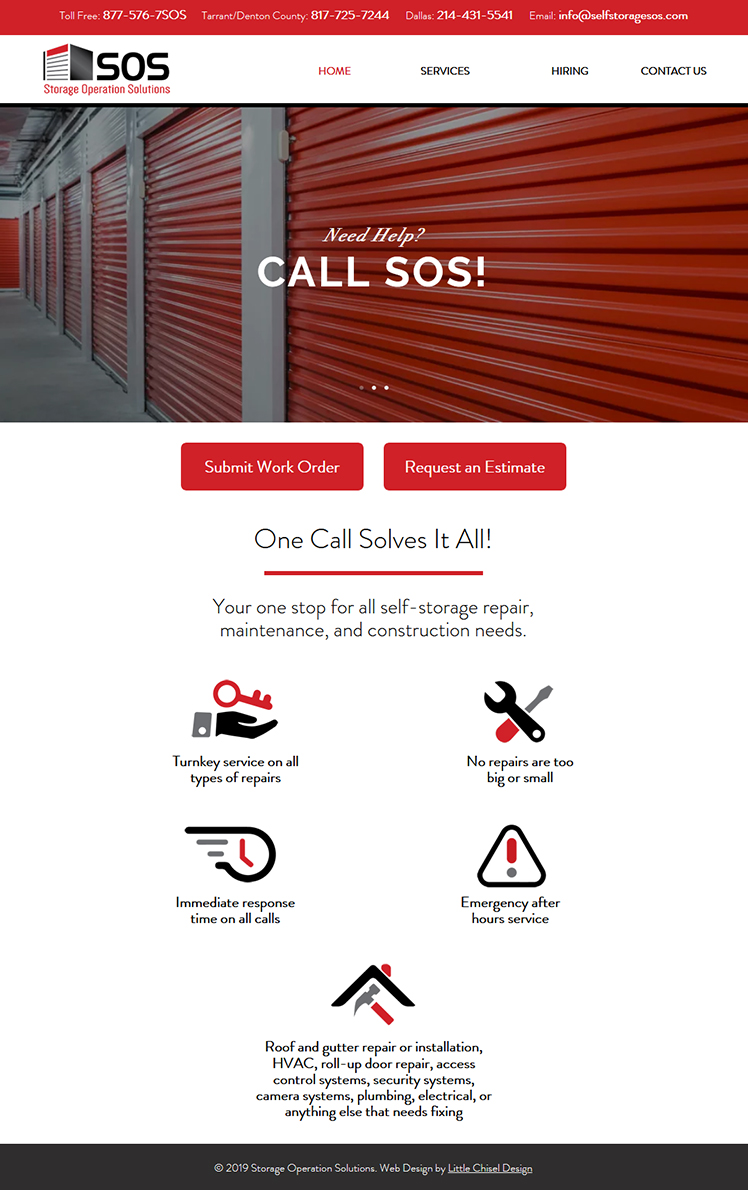 SOS! Website Design