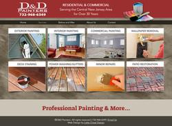 D and D Painters Website Design