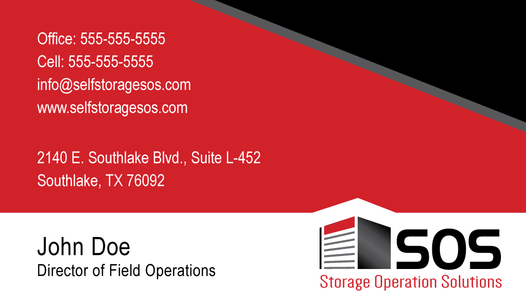 SOS Business Card