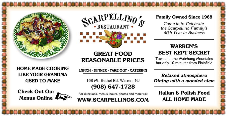 Scarpellino's Restaurant Ad
