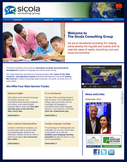 Sicola Consulting Group Website