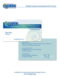 Business Card Front and Back