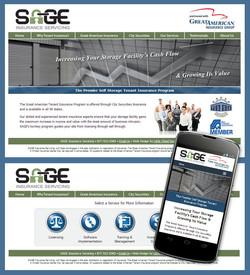 SAGE Insurance Website Design