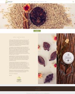 Native Skin Website Design