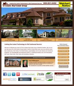 NJ Estates Website Design
