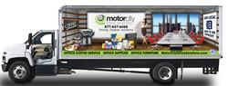 Motor City Truck Wrap Design