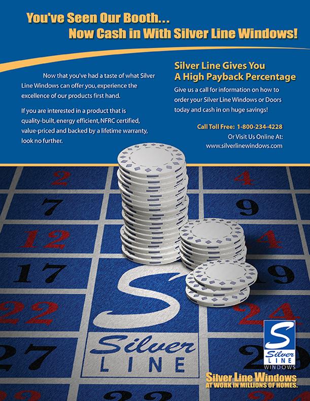 Silverline Windows Trade Show Flyer