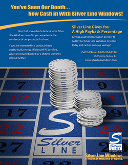 Silverline Windows Trade Show Flyer