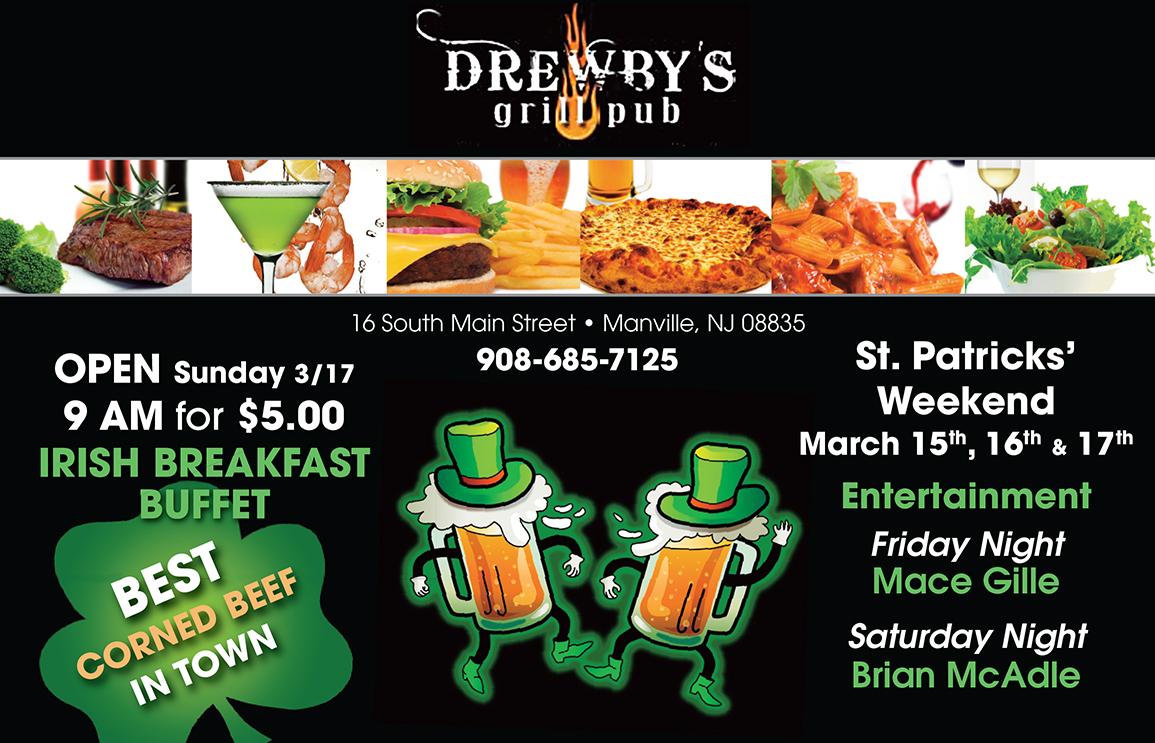 Drewby's Pub Ad