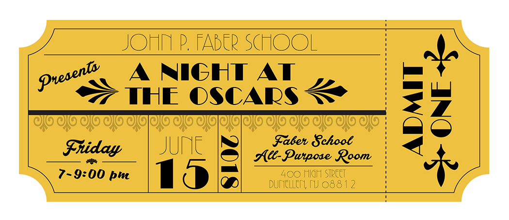 School Dance Movie Theme Invitation