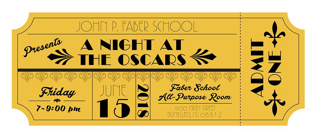 School Dance Movie Theme Invitation