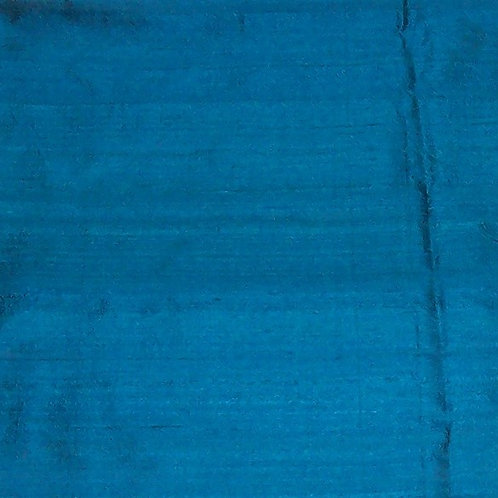 Silk Dupioni By the Piece Blue 7/8 Yard