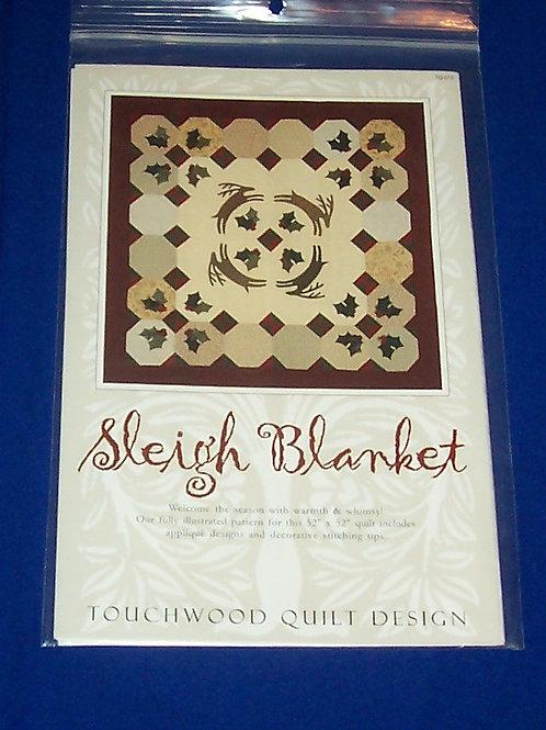 Touchwood Quilt Design Sleigh Blanket Quilt Pattern Christmas