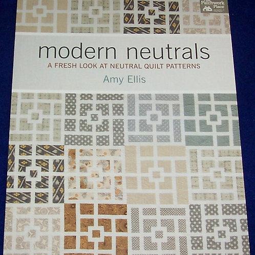 Modern Neutrals Amy Ellis Fresh Quilt Book
