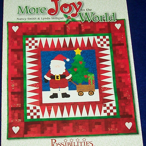 More Joy to the World Nancy Smith Lynda Milligan Quilt Book