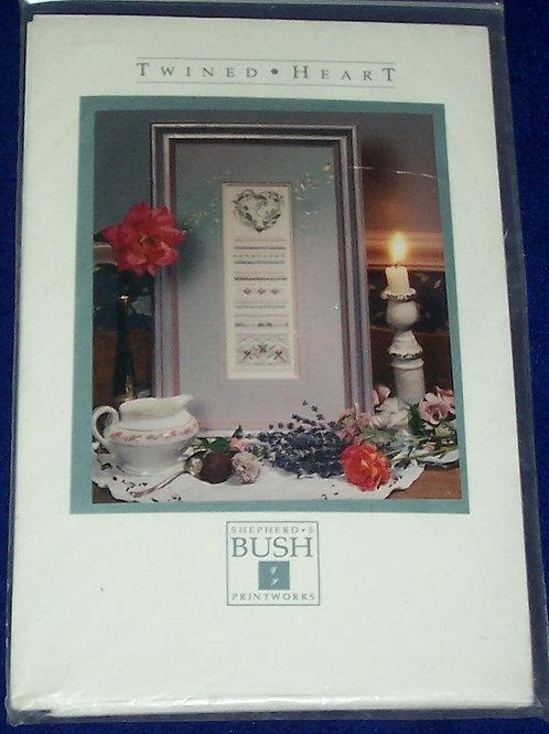 Cross Stitch Pattern Kit Shepherd's Bush Twined Heart