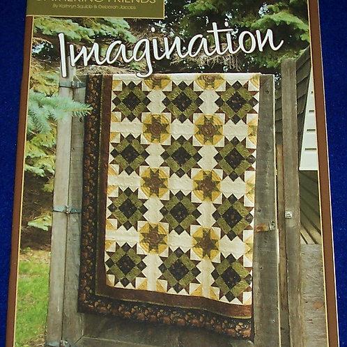 Imagination Gathering Friends Kathryn Squibb Deborah Jacobs Quilt Book